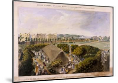 Abbey Tavern, St John's Wood, London, C1870-James Barnett-Mounted Giclee Print