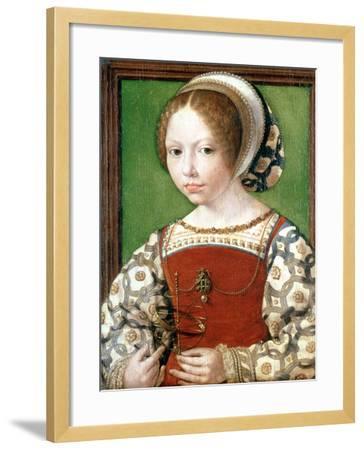 A Little Girl, C1520-Jan Gossaert-Framed Giclee Print