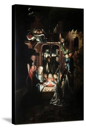 The Nativity of Christ (The Holy Night), Early 16th Century-Jan Joest-Stretched Canvas Print