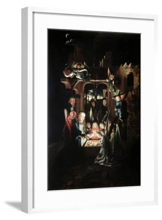 The Nativity of Christ (The Holy Night), Early 16th Century-Jan Joest-Framed Giclee Print