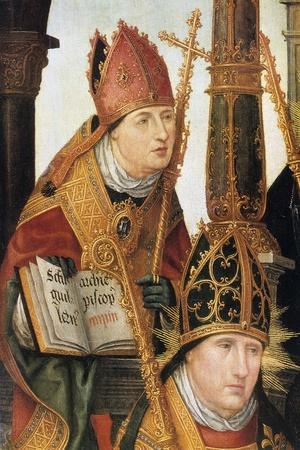 Annunciation (Detail), 1516-1517-Jean Bellegambe-Giclee Print