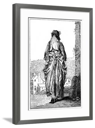 French Costume-Jean-Antoine Watteau-Framed Giclee Print