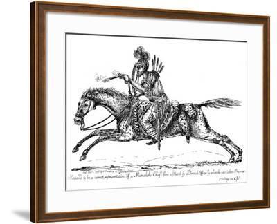 Mameluke Chief, 1798-James Gillray-Framed Giclee Print