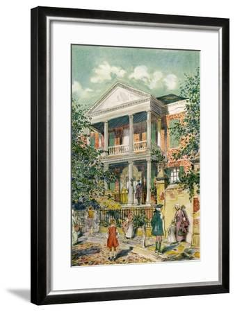 Pringle House, Charleston, South Carolina, USA, C18th Century-James Preston-Framed Giclee Print