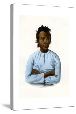 The Malay, C1840-James Prichard-Stretched Canvas Print