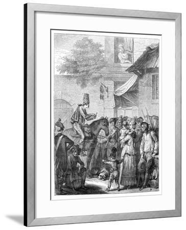 The German Charlatan-Jean Duplessis-bertaux-Framed Giclee Print