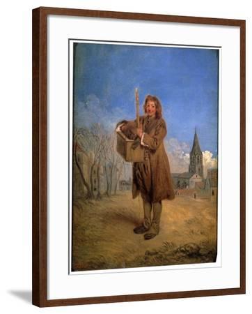 Savoyard with a Marmot, 1716-Jean-Antoine Watteau-Framed Giclee Print