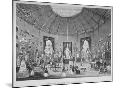 The Great Exhibition, Hyde Park, Westminster, London, 1851-Jean-Marie Chavanne-Mounted Giclee Print