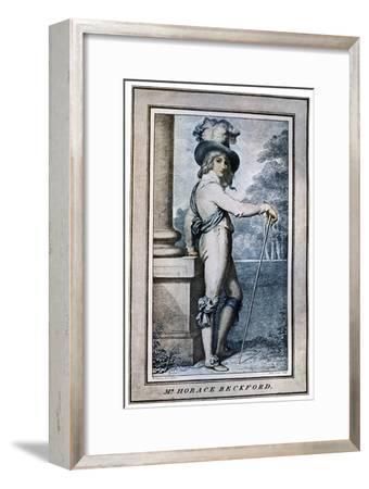 Horace Beckford, 18th Century-John Conde-Framed Giclee Print