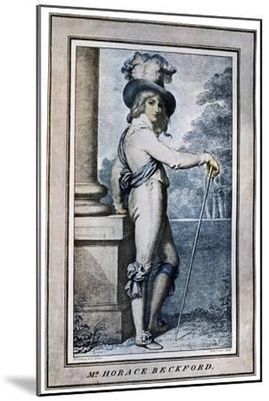 Horace Beckford, 18th Century-John Conde-Mounted Giclee Print