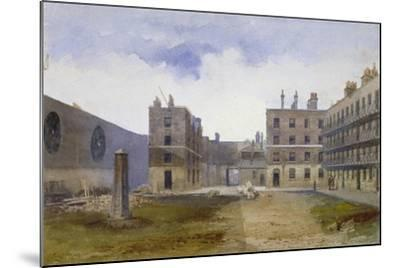 Queen's Bench Prison, Borough High Street, Southwark, London, 1879-John Crowther-Mounted Giclee Print