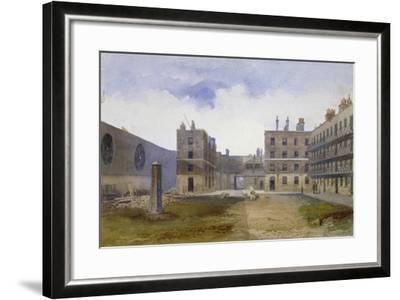 Queen's Bench Prison, Borough High Street, Southwark, London, 1879-John Crowther-Framed Giclee Print