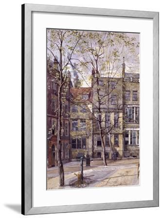 Inner Temple, London, 1880-John Crowther-Framed Giclee Print