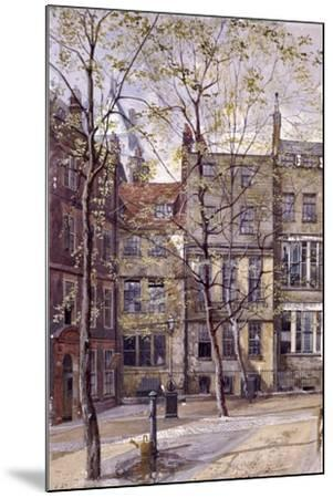 Inner Temple, London, 1880-John Crowther-Mounted Giclee Print