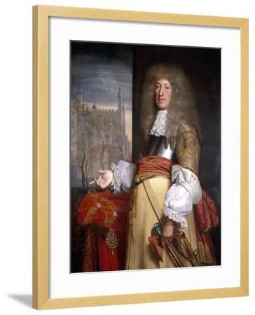Sir John Robinson, Lord Mayor 1662-John Michael Wright-Framed Giclee Print
