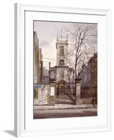 St Olave Jewry, London, 1887-John Crowther-Framed Giclee Print