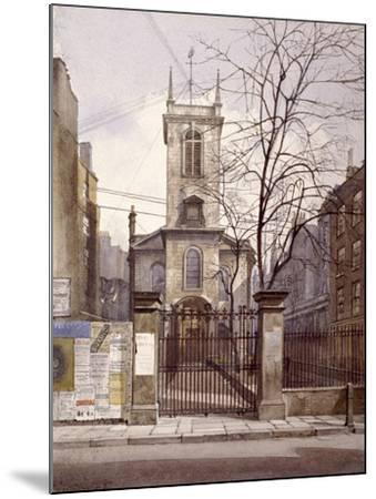 St Olave Jewry, London, 1887-John Crowther-Mounted Giclee Print