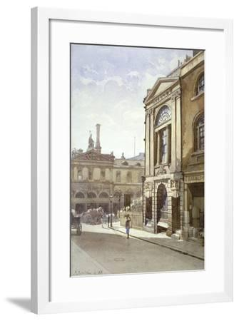 Watermen's and Lightermen's Hall, St Mary at Hill, City of London, 1888-John Crowther-Framed Giclee Print
