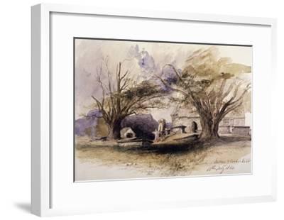 The Church, Bettws-Y-Coed, 1850, Bettws-Y-Coed, Gywnedd, Wales-John Gilbert-Framed Giclee Print