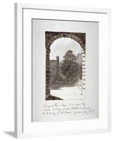 Thaves Inn (Ie Thavies In), Holborn, London, 1771-John Carter-Framed Giclee Print