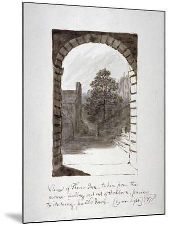 Thaves Inn (Ie Thavies In), Holborn, London, 1771-John Carter-Mounted Giclee Print