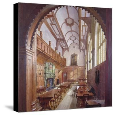 Great Hall, Charterhouse, London, 1885-John Crowther-Stretched Canvas Print