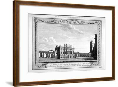 View of the Bank of England Showing the New Wing, 1790-John Peltro-Framed Giclee Print