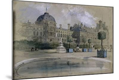 The Tuileries, Paris, France, 1846-John Gilbert-Mounted Giclee Print