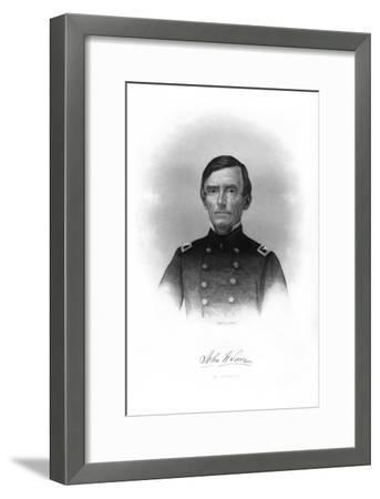 Colonel John W Lowe, American Soldier-John A O'Neill-Framed Giclee Print