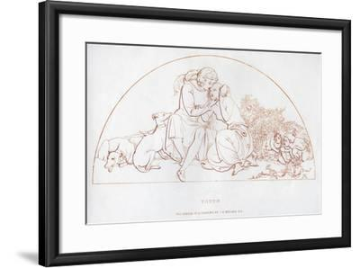 Youth, 19th Century-John Everett Millais-Framed Giclee Print