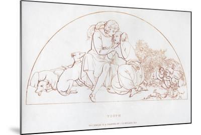 Youth, 19th Century-John Everett Millais-Mounted Giclee Print