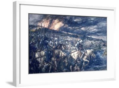War: after the Battle, 1888-John Gilbert-Framed Giclee Print