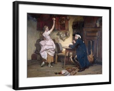 Flirtation, 1885-John Francis Rigaud-Framed Giclee Print