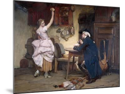 Flirtation, 1885-John Francis Rigaud-Mounted Giclee Print