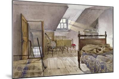 Interior View of Marshalsea Prison, Borough High Street, Southwark, London, 1887-John Crowther-Mounted Giclee Print