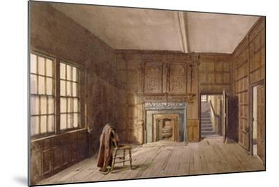 Interior View of Sir John Spencer's Room in Canonbury House, Islington, London, 1887-John Crowther-Mounted Giclee Print