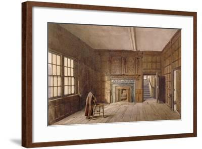 Interior View of Sir John Spencer's Room in Canonbury House, Islington, London, 1887-John Crowther-Framed Giclee Print