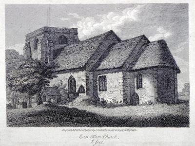 The Church of St Mary Magdalene, East Ham, Newham, London, 1812-John Greig-Framed Giclee Print