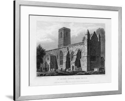 St Peter's Church, from the South-East, Oxford, 1833-John Le Keux-Framed Giclee Print