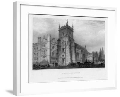 St Botolph's Church, Boston, Lincolnshire, 1842-John Le Keux-Framed Giclee Print