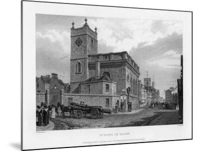Church of St Peter Le Bailey, Oxford, 1835-John Le Keux-Mounted Giclee Print