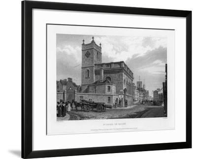 Church of St Peter Le Bailey, Oxford, 1835-John Le Keux-Framed Giclee Print