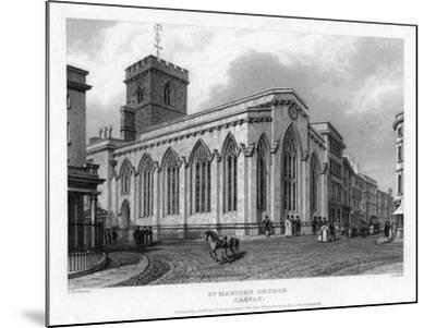 St Martin's Church, Carfax, Oxford, 1835-John Le Keux-Mounted Giclee Print