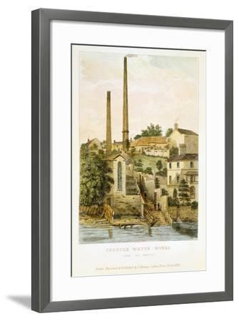 Chester Water Works, from the Fields, 1852-John Romney-Framed Giclee Print