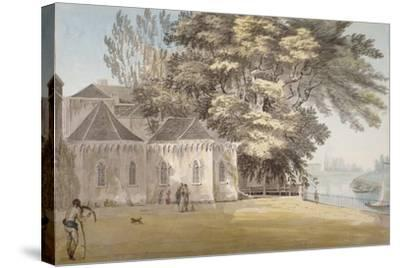 Isleworth, Middlesex, 1787-John Claude Nattes-Stretched Canvas Print