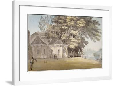 Isleworth, Middlesex, 1787-John Claude Nattes-Framed Giclee Print