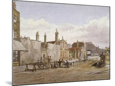 Skinners' Almshouses and Trinity Almshouses, Mile End Road, Stepney, London, 1883-John Crowther-Mounted Giclee Print