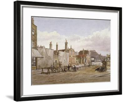Skinners' Almshouses and Trinity Almshouses, Mile End Road, Stepney, London, 1883-John Crowther-Framed Giclee Print