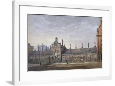 Emery Hill's Almshouses, Rochester Row, Westminster, London, 1880-John Crowther-Framed Giclee Print