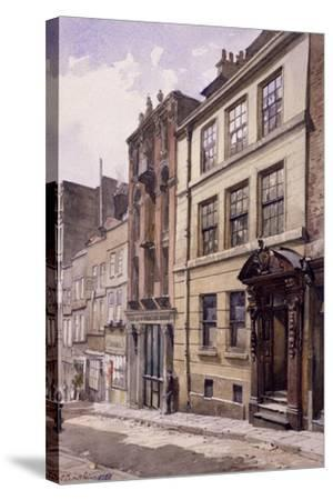 Painter-Stainers' Hall, Little Trinity Lane, London, 1888-John Crowther-Stretched Canvas Print